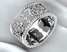 3D print model Golden Wedding Ring