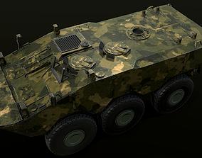3D asset Armored Brazilian Vehicle - VBTP Guarani