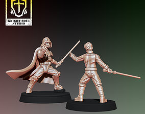 PACK CHOSEN ONE V KNIGHT OF HOPE 3D print model