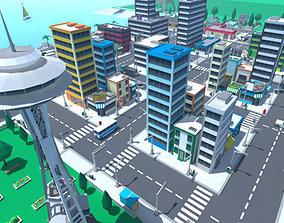 VR / AR ready 3D Cartoon Level Pack Vol 1