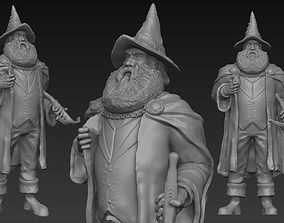 Mustrum Ricully - Discworld - 3D print ready pratchett