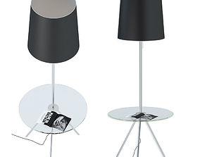3D Floor lamp with table ST Luce SL463