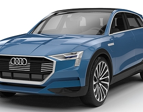 3D model Audi E-tron Quattro Concept 2015