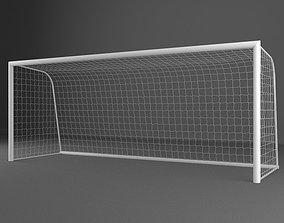 Soccer Goal 002 3D model