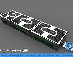 Bungkus Server Cilik 3D model