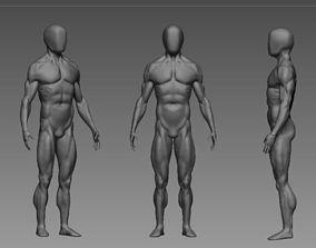 3D anatomy highy poly