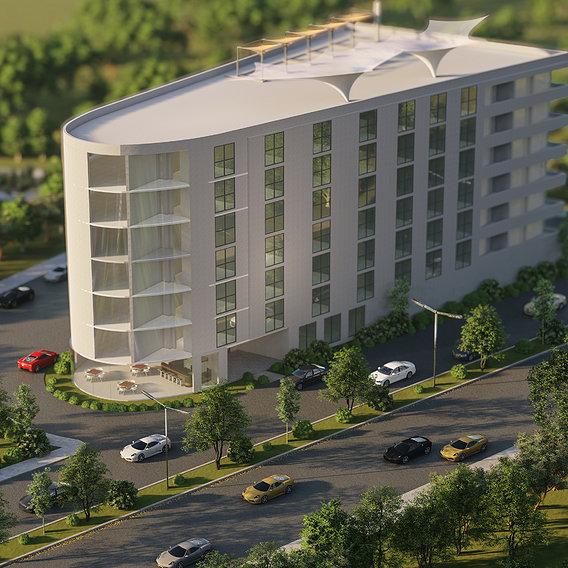 commercial building master plan design