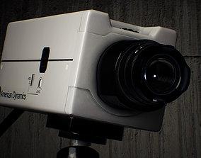 3D asset CCTV Camera Games Ready
