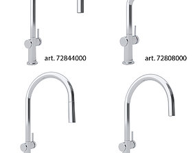 3D HANSGROHE Kitchen Faucet Collection Talis M54