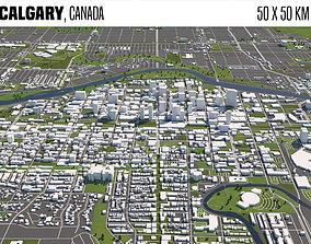 dollar Calgary Canada 3D model