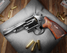 rigged Smith and Wesson Model 19 Classic