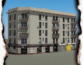 3D model realtime shop Building