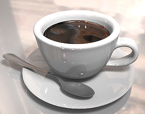 chocolate Coffee cup 3D model