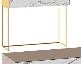 3D model Ronda Design Materika Birdie Console Table