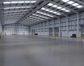 3D model Industrial Warehouse Interior 11