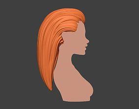 Female Hair 2 woman 3D printable model