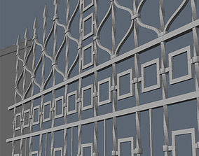 3D Fence for exterior visualization