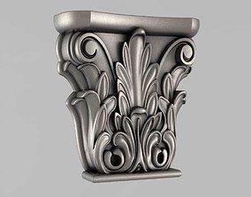 ornament 3D printable model Capitals