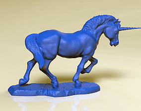 3D print model Unicorn sculpture