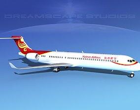 Comac ARJ21-900 Hainan Airlines 3D