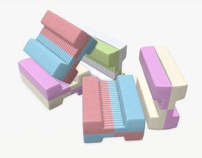 3D Chewing gums bone shape