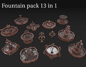 3D Fountain pack 13 in 1