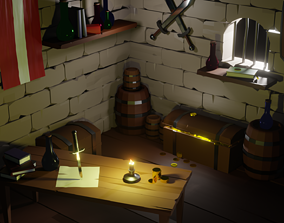 robber Robber lair 3D