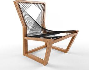 3D Alexander Mueller Woven Easy chair