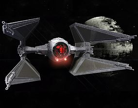 STAR WARS TIE INTERCEPTOR Detailed and