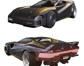 Quadra V-Tech from Cyberpunk 2077 3D model