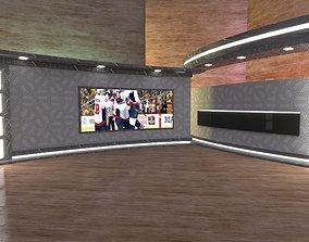 3D Marble Virtual Studio TV