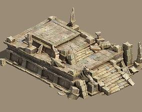 Desert - altar void 3D model