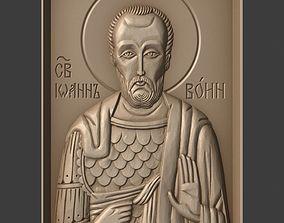 3D printable model Orthodox Christian Icon of John the