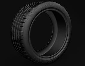 tuning Tire - Michelin Pilot Sport 4 s 3D model