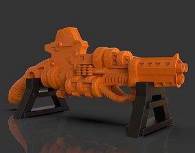 3D print model Stylized Sci-Fi Shotgun Sculpture
