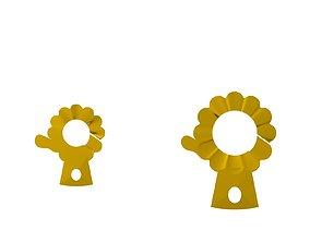 LOCKK 3D print model symbol