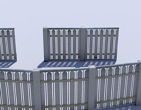 3D model Fence outside