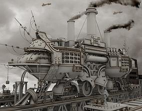 3D asset Ship Concept Digital art