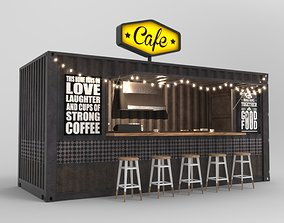 Container Cafe 4 3D model