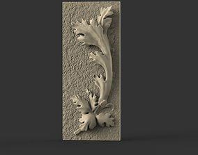 3D print model acanthus ornament
