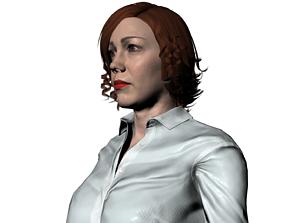 Adriana La Famiglia Cavalli 3D asset