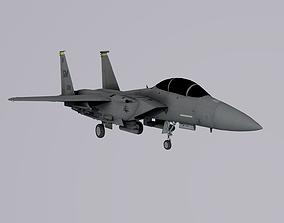 McDonnell Douglas F-15 Eagle 3D asset