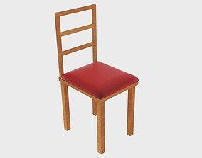 3D asset Chair Square