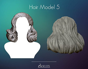 Hairstyle model 05