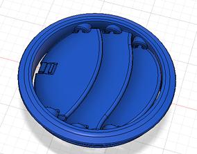 3D print model Suzuki Jimny JB43 Circular Fan Vent