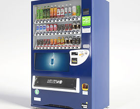 Vending Machine 36 Button 3D