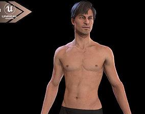 Man Base mesh Evro 3D model