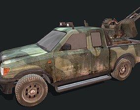 3D model VR / AR ready Toyota Hilux