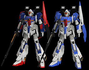 3D printable model 1 per 20 scale MSZ-006 Z Gundam