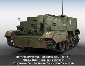 3D model Bren Gun Carrier - BUC - T250934
